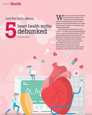 Heart health myths debunked dr. anuj sha