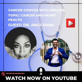 Cancer Convos with Grace B Dr. Anuj Shah