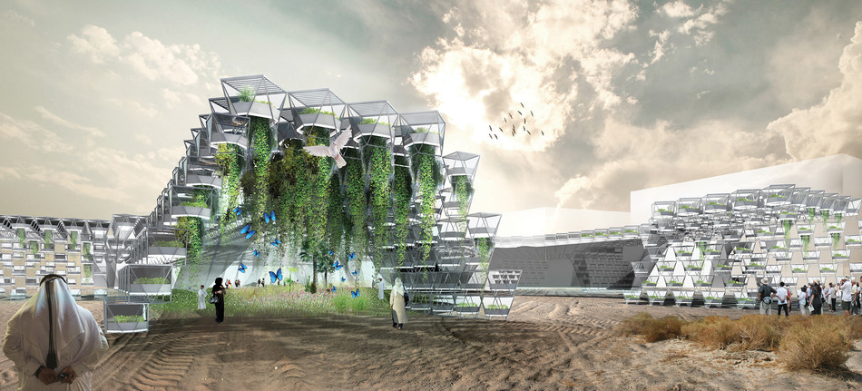 The Oasis: an Integrated Ecosystem in the City
