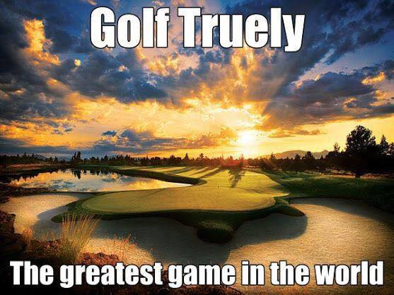 golf sun water truth