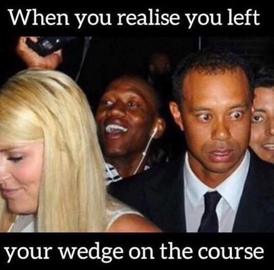 Tiger Woods worried