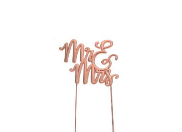 Mr & Mrs Topper (Rose Gold)
