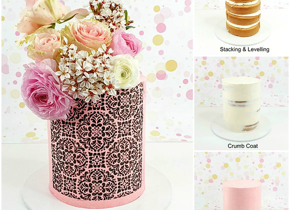 Buttercream Stencils 101