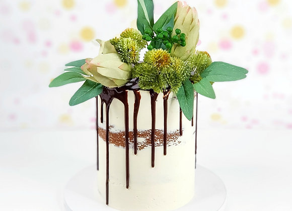 Native Choc Drip Cake