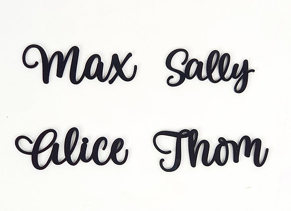 Dinner Plate Name/Place Cards (20)