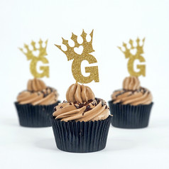 Crown Toppers + Initial CC
