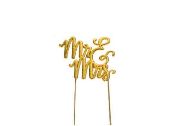 Mr & Mrs Topper (Gold)