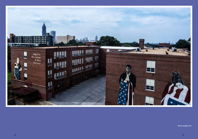 YOUNG AMERICANS MURALS ON THE HISTORIC DAVID T HOWARD BUILDING