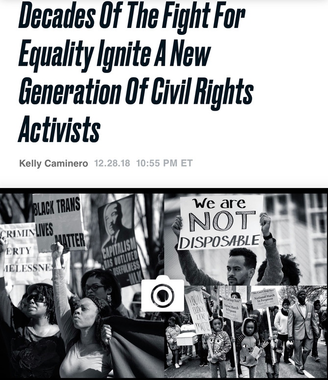 #1960Nowthebook Review 'Decades of The Fight For Equality Ignite A New Generation of Civil Right