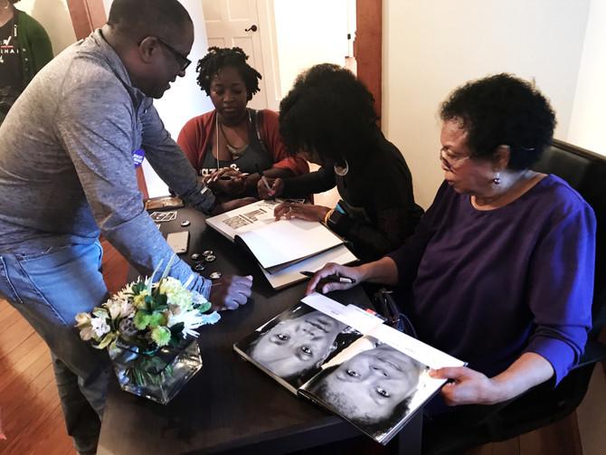 #1960NowtheBook signing at Arnika Dawkins Fine Art Photography Gallery