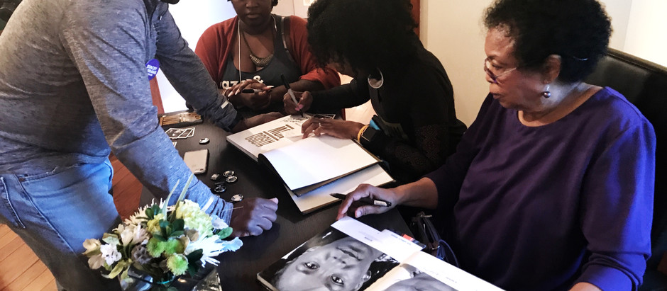 #1960NowtheBook signing at Arnika Dawkins Fine Art Photography Gallery
