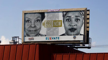 #1960Now Billboard is featured in the Public Art Festival, #ElevateATL SWATS