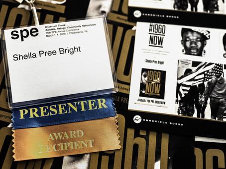 SPE 2018 AWARD WINNER   SOCIETY FOR PHOTOGRAPHIC EDUCATION