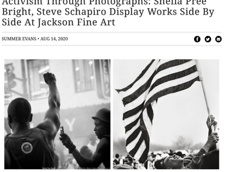 Activism Through Photographs:  Sheila Pree Bright, Steve Schapiro Display Works Side by Side at Jack