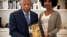#1960NowtheBook with Congressman, John Lewis