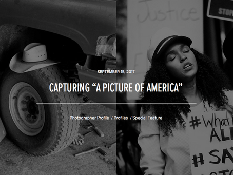 """CAPTURING """"A PICTURE OF AMERICA"""""""