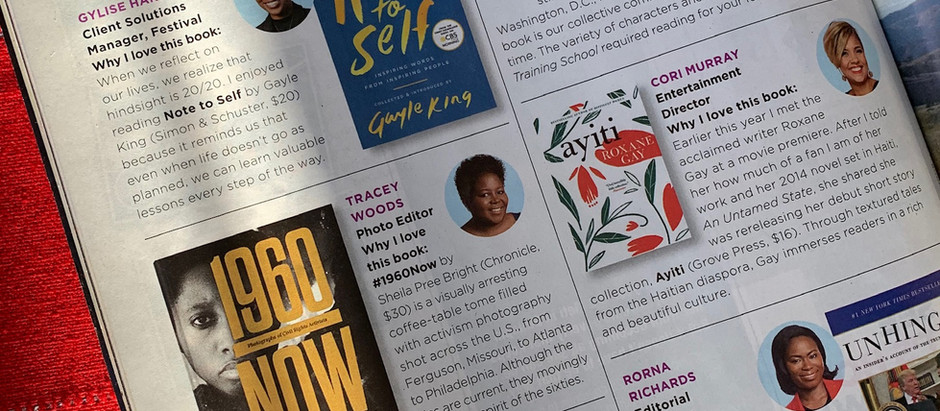 Essence Magazine Pick #1960Nowthebook For The Perfect Present for the Holidays !