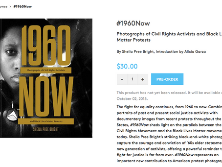 #1960NOW BOOK RELEASE OCTOBER 2018: Chronicle Books