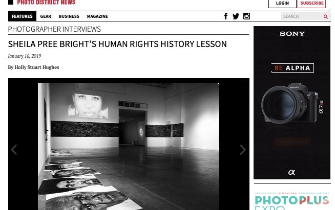 Sheila Pree Bright's Human Rights History Lesson