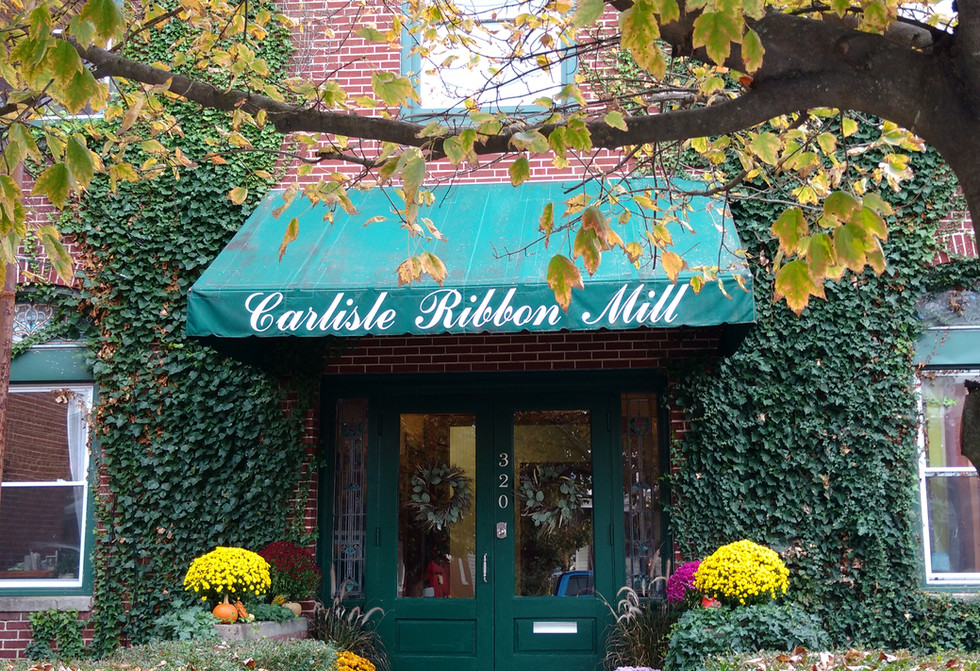 Carlisle Ribbon Mill Front Entrance