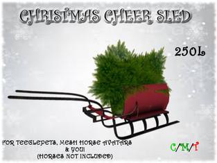 Dione Bingyi - Christmas Cheer Sled