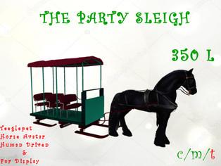Dione Bingyi - Party Sleigh & Wagons