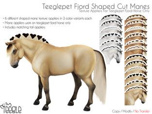 Teegle - Fjord Shaped Cut Manes