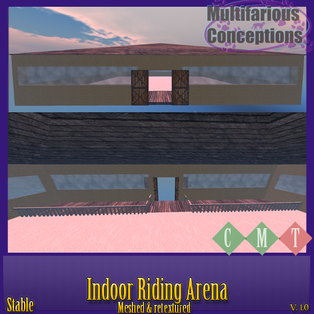 Multifarious Conceptions - Indoor Riding Arena