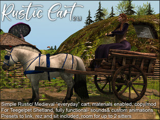artMEfashion - Rustic Cart