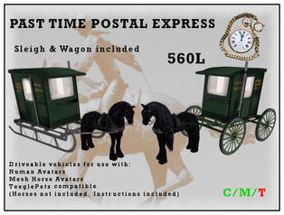 Dione Bingyi - Pastime Postal Express