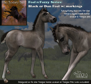 Texture Barn - Fuzzy Foals Appliers