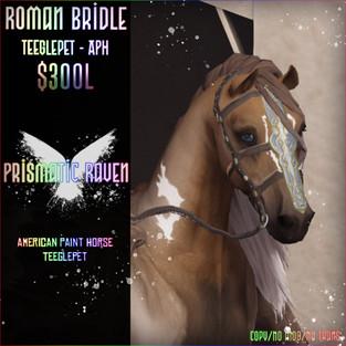Prismatic Raven - Roman Bridle