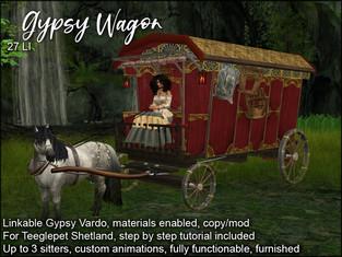 artMEfashion - Gypsy Wagon