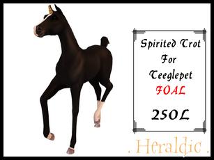 . Heraldic . - Spirited Trot