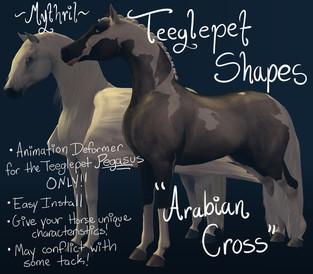 Mythril - Teeglepet Shape: Arabian Cross