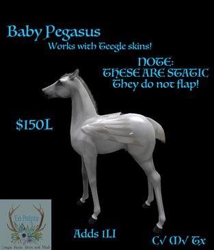 En Pointe - Baby Pegasus