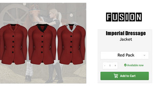 FUSION - Imperial Dressage Jacket