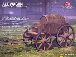 *Cinnamon* - Ale Wagon