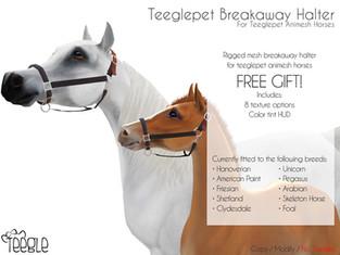 Teeglepet Breakaway Halter