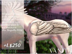 Tutto è Vanità - Static Foal Wings