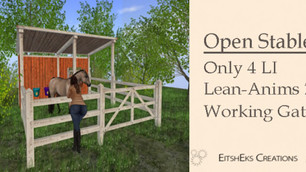 EITSHEKS CREATION - Charming Open Stable