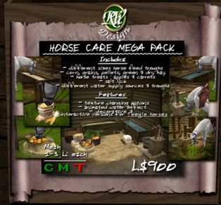 RVi Design - Interactive Horse Care Items