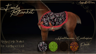 :Appy Bottoms: Foaly Blanket