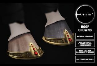 Kosmii - Hoof Crowns
