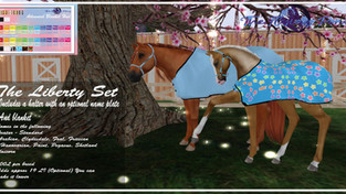The Flying Pony - Liberty Set