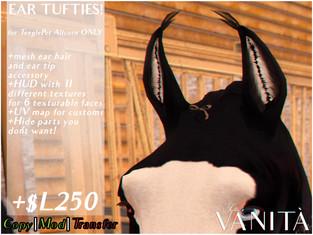 Tutto è Vanità - Teeglepet Ear Tufties