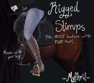 ~Mythril~ Rigged Stirrups