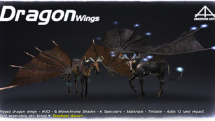 Abaddon Arts - Dragon Wings