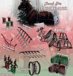 Cheval D'or - Christmas Spirit Gacha