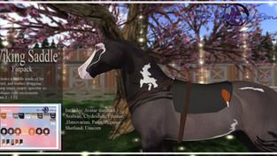 The Flying Pony - Viking Saddle